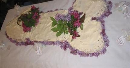 25個醜到可以毀掉一個美好婚姻的婚禮蛋糕。