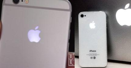 只要你直接照著這個DIY做,你手機後面的蘋果就「可以像鋼鐵人一樣」亮起來了!