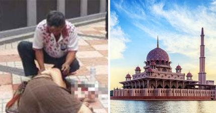 台女到馬來西亞玩遇機車匪 當場扯到摔倒「叫不醒了!」