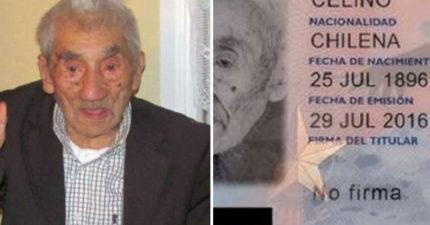 全球最長壽男人逝世享嵩壽121歲 死亡原因很冤枉