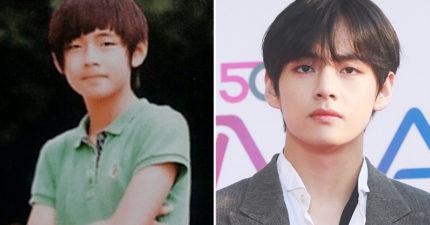 31張韓星的「小學畢業照」 《屍速列車2》男神小時候差太多!