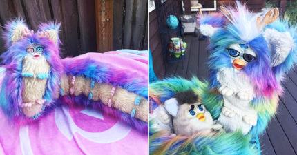 把最熟悉娃娃改造成「菲比人形蜈蚣」 網驚:放過我的童年回憶QQ