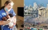 無名英雄!她被「黎巴嫩大爆炸」震暈 醒來繼續搶救「3位嬰兒」