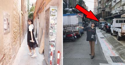 日女模曝光「台北街景」寫真 網看「超丟臉細節」大喊扣分