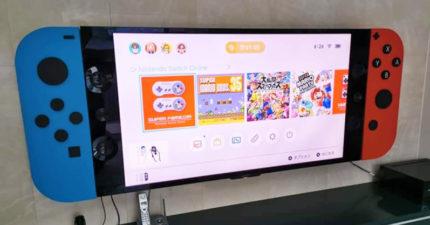應該叫Switch Heavy嗎?日本出現「超巨型Switch」實現玩家夢想