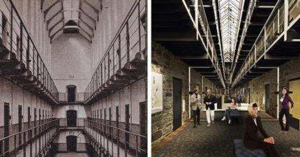 18世紀「最鬧鬼監獄」改建飯店 設計「豪華版囚犯房」讓人好想住!