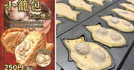 日本人住手!店家推出「小籠包鯛魚燒」 台灣網友崩潰喊:不要玩食物