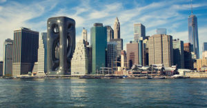 科幻電影成真?未來感「液態鏤空大樓」 近看「像流動液體」充滿生命力!