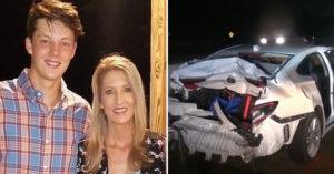載17歲少年回家 52歲辣媽慘遭「飛來輪胎」當場擊斃