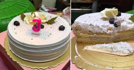蛋糕「酸又黏」員工吃一口就吐 店家私訊道歉完「告上警局」