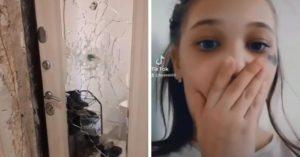 9歲女童「頭中彈」爸懷裡亡 恐怖死前影片曝:鄰居敲門1小時