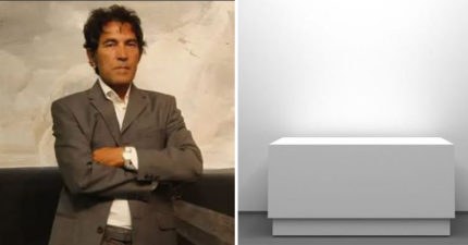 用空氣和精神打造「隱型雕像」!藝術家「50萬售出」教展示方法