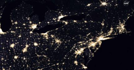 上帝視角!NASA發佈絕美「地球夜景照」 北韓有人偷打PS5?